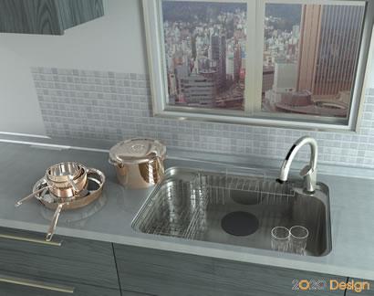 2020デザイン キッチン インテリア 設計 デザイン 3D CAD ツール 20-20